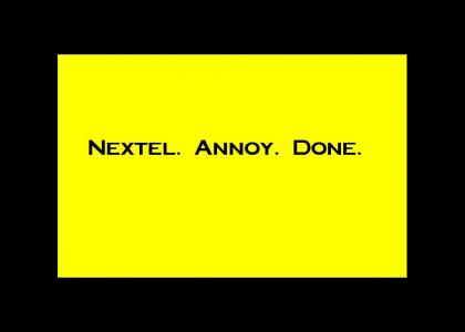 Attention NEXTEL customers