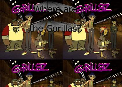 Where are the Gorrillaz?