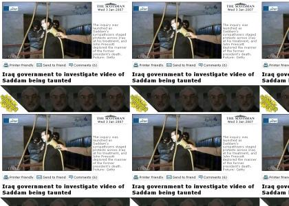 WITHKOSIT: CaptainObvious reacts to Saddam's hanging