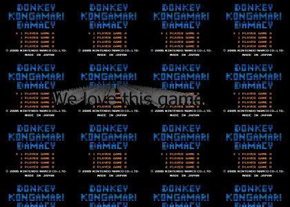 Donkey Kongamari Damacy!