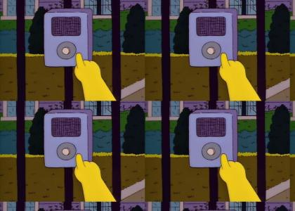 Secret Simpsons iPod!