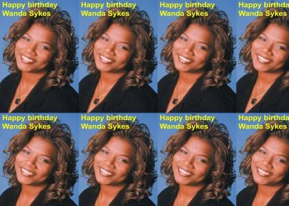 HAPPY BIRTHDAY WANDA SYKES