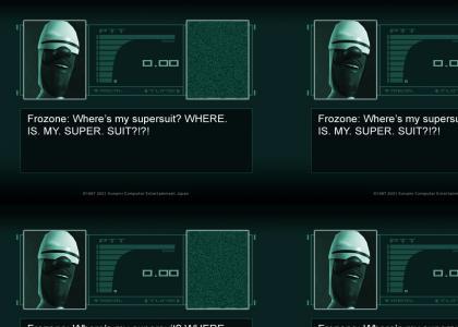 Metal Gear Supersuit