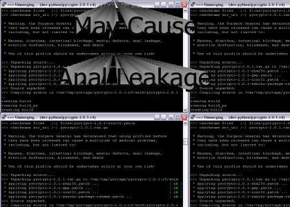 Epic Linux maneuver