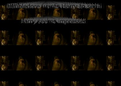 Dumbledore wants Harry to see his penis