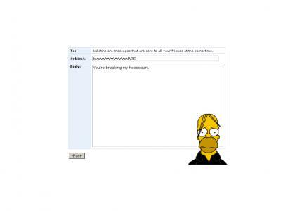 Homer is emo!