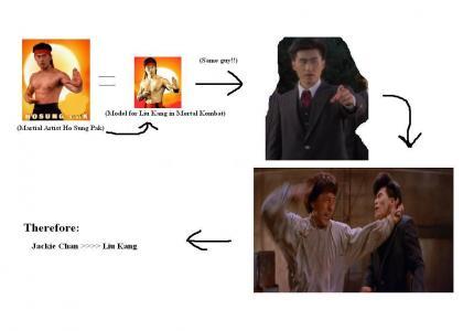 Jackie Chan > Liu Kang