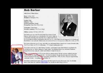 Bob Barker And Chuck Norris?
