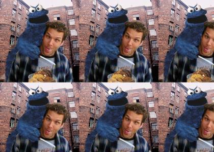 Cookie Monster vs Dane Cook