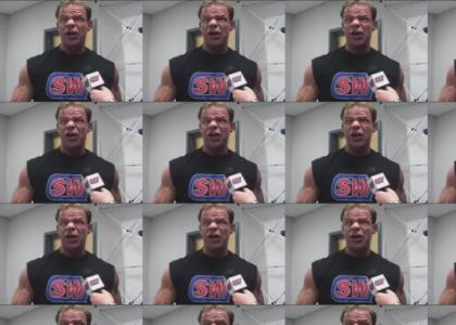 Sonic gives advice to Lex Luger