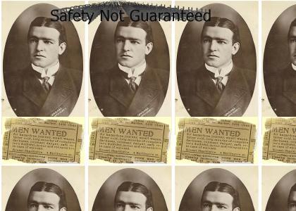 Ernest Shackleton - Safety not Guaranteed
