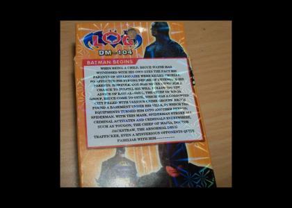 Holy chinese bootleg, Batman (A dramatic reading)