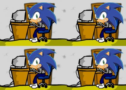 Sonic gives hack advice