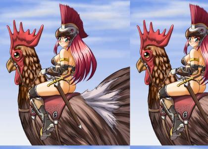 Girl Riding Cock