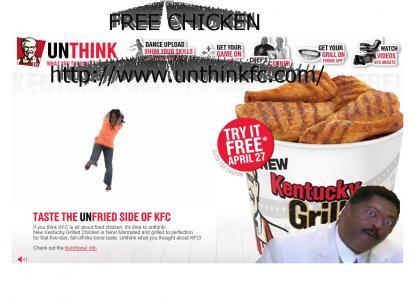 FREE PIECE OF KFC CHICKEN - 04/27