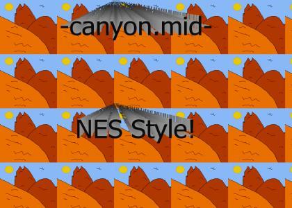 CANYON.MID NES
