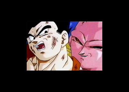 Buu Gotta Whisper in His Ear...