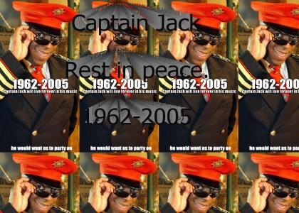 We'll miss you, Captain Jack.