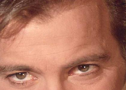 Kirk Stares Into Your Soul