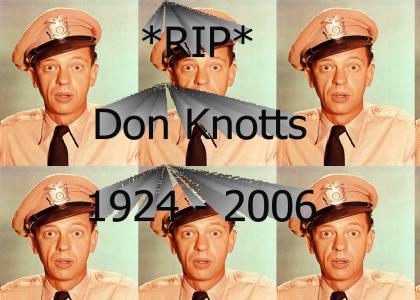 Don Knotts 1924 - 2006