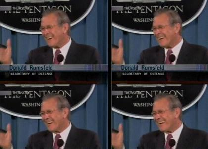 Rumsfeld's New Teeth