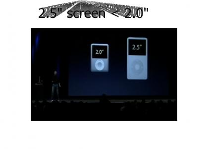 New Larger Two Inch Screen