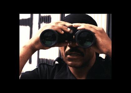 ving raymz stole some binoculars