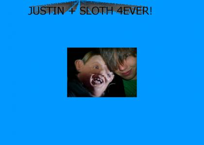 justin loves sloth
