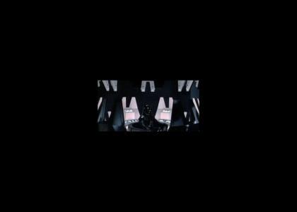 Darth Vader intercepts an unauthorized broadcast !!  (sound edit + link to video recap)