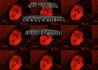 Oh no!  It's BOILING ACID!