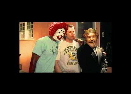 Travolta & Old Friends