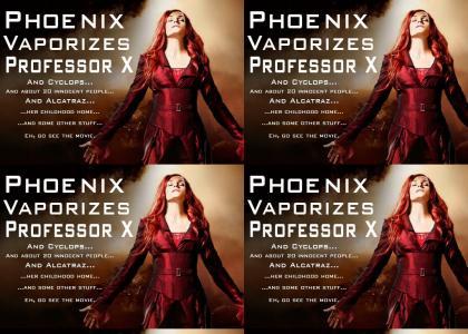 Phoenix Kills Prof. X
