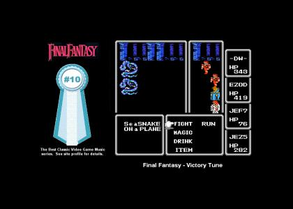 Final Fantasy - Victory Tune (#10 Best Classic Video Game Music)