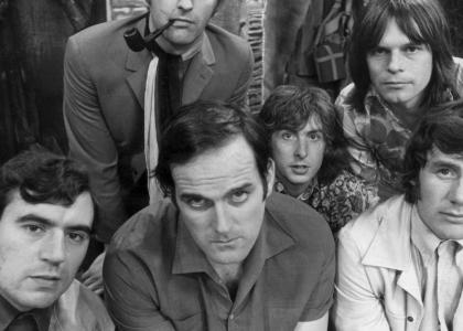 Monty Python Stares Into Your Soul