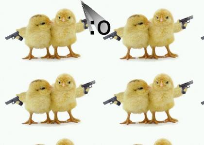 Naked Chicks With Guns
