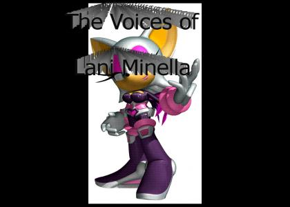 Many game voices of Lani Minella