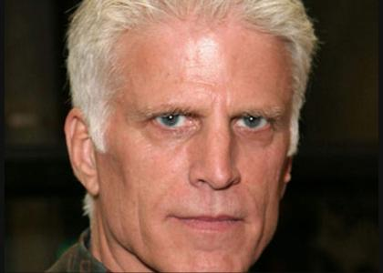danson stares into your soul