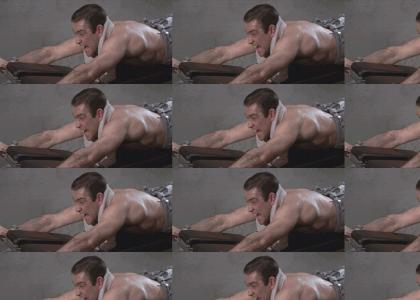 The James Bond Man Muscle Workout