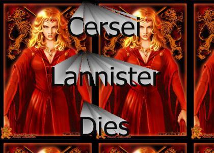 Cersei Lannister Dies In Book 4