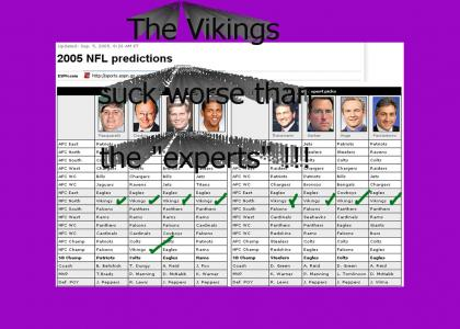 "Vikings and ESPN ""experts"" SUCK !!!"