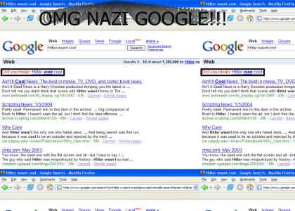 Secret Nazi Google NO WAI!