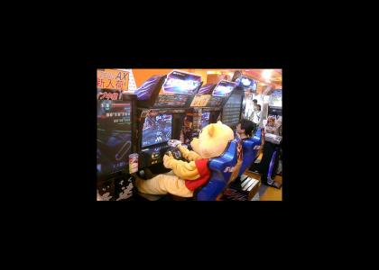 Winnie The Poo Plays F-Zero AX
