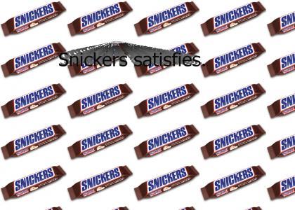 Snickers satisfies