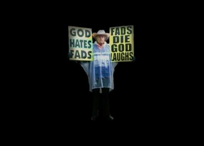 Fred Phelps pickets YTMND