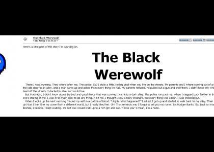 Dramatic Reading of 'The Black Werewolf'