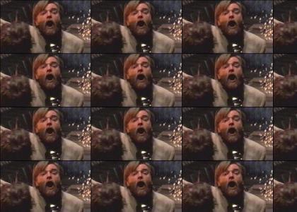 Obi Wan sings!