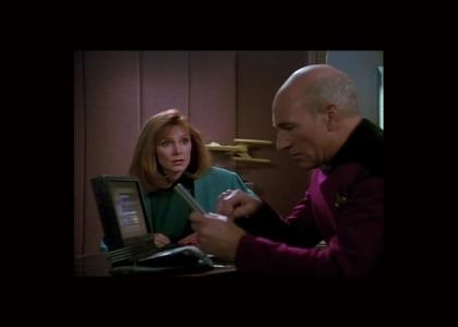 Picard fails at wireless