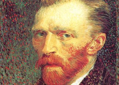 Vincent stares intently into your meaningless soul to find artistic inspiration, but finds nothing