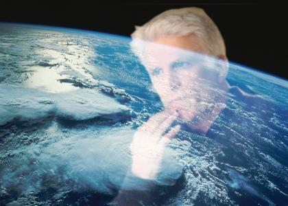Ted Danson's astral projection remix