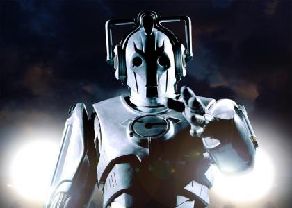 Cyberman stares into your soul